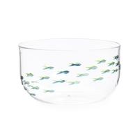 美国 Roost  透明玻璃小号日式脂鲤玻璃碗