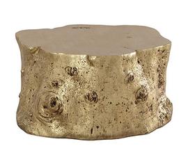 美国 Phillips Collection  金色树脂边桌