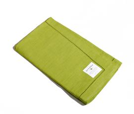 意大利 Sferra  果绿色亚麻餐巾四件套
