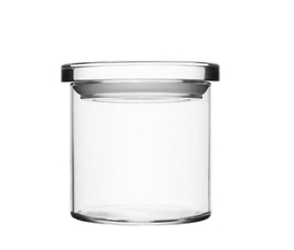 芬兰 Iittala  透明玻璃极简密封大号收纳罐