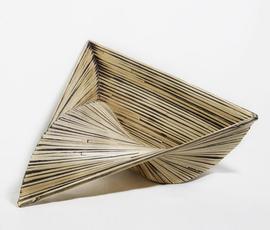 美国 Phillips Collection  原色竹制三角形雕塑(大号)