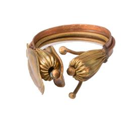 美国 Roost  金色黄铜果实戒指