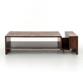 美国 Four Hands  Avett系列金合欢木手工咖啡桌