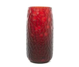 意大利 Salviati  Battuto系列红色穆拉诺玻璃马赛克花瓶