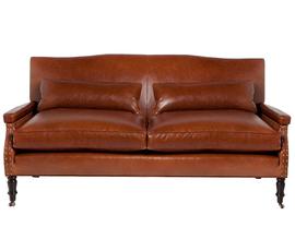 美国 Cisco Brothers  Brent系列棕色 头层牛皮 美式休闲 沙发
