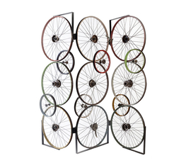 美国 Phillips Collection  自行车车轮屏风