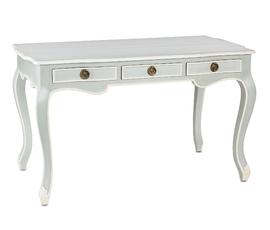 美国 Currey & Company  Salon系列浅灰色 奶白色木质时尚写字台