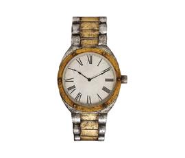 美国 Propac  金属色金属腕表造型钟表
