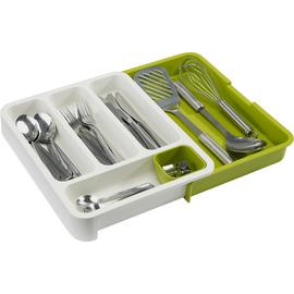 抽屉整理器餐具版绿色