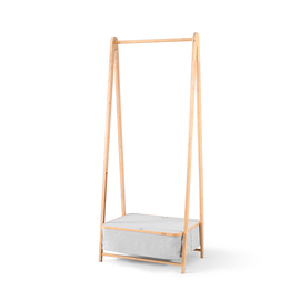 ALFA艾兒發 品味竹布衣掛架
