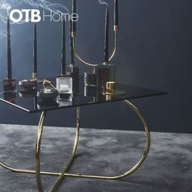 ANGUI table   Black/Gold
