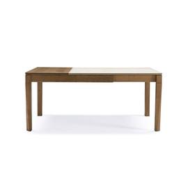 意大利 Pacini&cappellini  Plurimo系列原木色水曲柳实木可拉伸餐桌