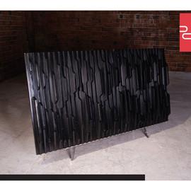 美国 Phillips Collection  黑色树脂DNA墙饰