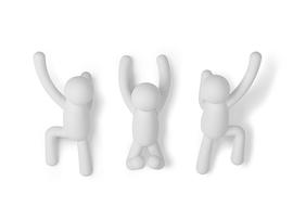 加拿大 Umbra  Buddy系列塑胶多功能创意墙面挂钩