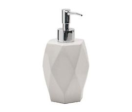 美国 Nameek's  Gedy Dalia系列白色陶瓷几何切割乳液罐