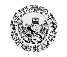 芬兰 Iittala  Taika魔幻森林系列黑白陶瓷猫头鹰深盘