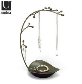 加拿大 Umbra  ORCHID系列青铜色金属兰花首饰架