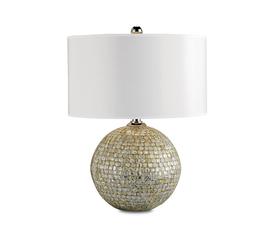 美国 Currey & Company  Barbados系列白色贝壳手工雕刻当代设计台灯