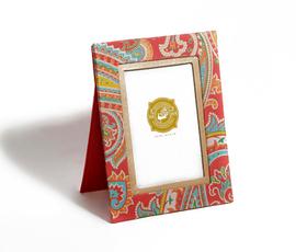 美国 Two's Company  samarkand系列中国红荷木中式纹样民族风相框