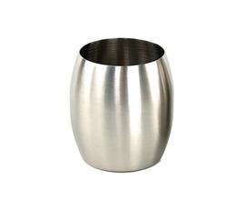 美国 Nameek's  Nigella系列原色不锈钢牙刷杯