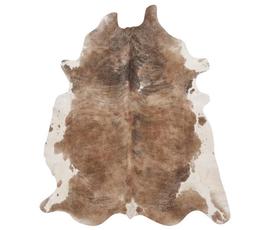 美国 Surya  Duke系列褐色顶级牛皮兽皮状异形大号地毯