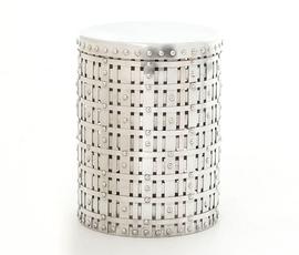 美国 Four Hands  Marlow系列铝制黑灰色圆桌