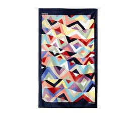 意大利 Missoni Home  Malika系列花色棉方块图案浴巾