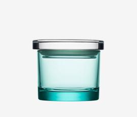 芬兰 Iittala  中号水绿色密封罐