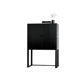 意大利 Casamilano  Orlando系列黑色橡木装饰柜