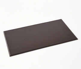 美国 Global Views  Barbara Barry系列深褐色皮革桌垫