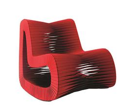 美国 Phillips Collection  红色安全带座椅